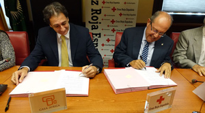 Collaboration between Red Cross and Casa África