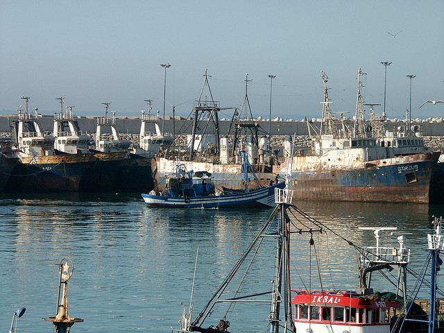 Port of Agadir (Picture: Michel Guilly)