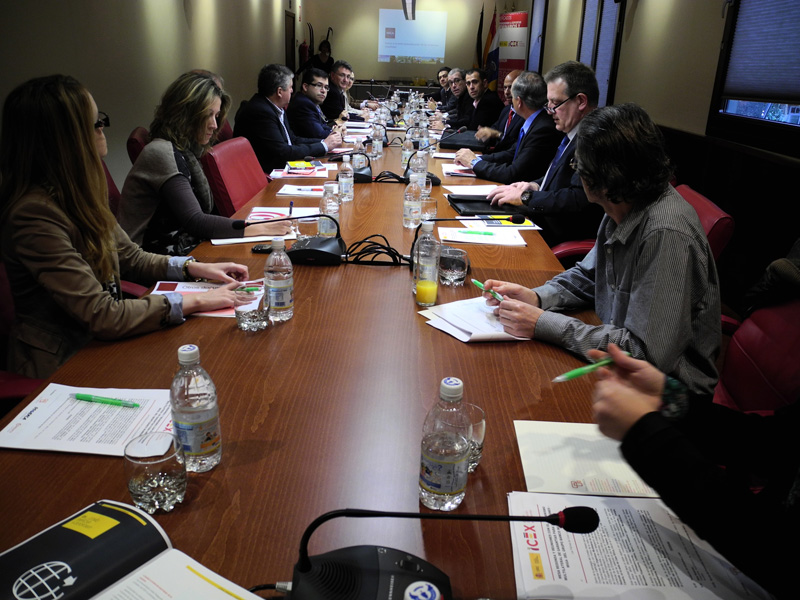Picture of the round table held in February 2013 at Casa África as part of the CAPCAO strategy.