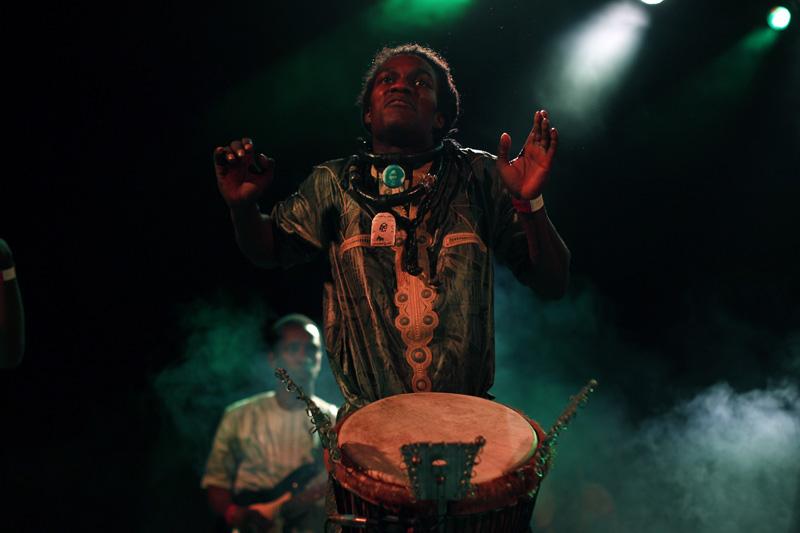 El Día de África se celebró en Madrid con conferencias, nuevas tecnologías y 'reggae'