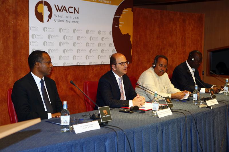 La Red de Ciudades de África Occidental se constituye para promover proyectos de ordenación del territorio, nuevas tecnologías y buena gobernanza