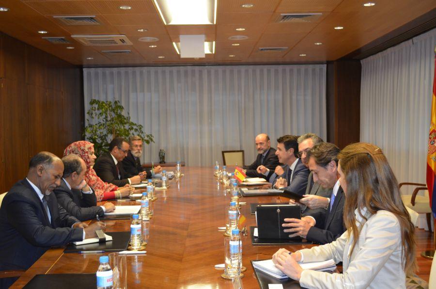 El ministro de Industria, Energía y Turismo se reúne con la ministra de Comercio, Industria, Artesanía y Turismo de Mauritania