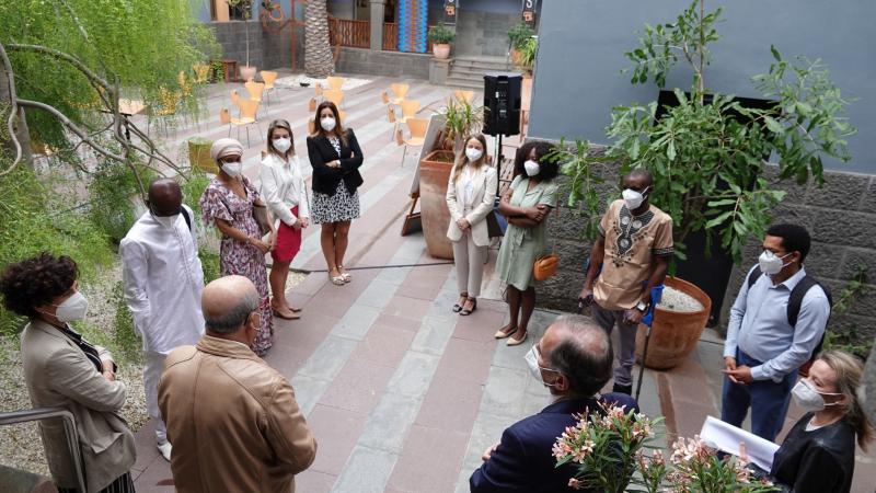 Una delegación de diplomáticos de la CEDEAO conoce Casa África
