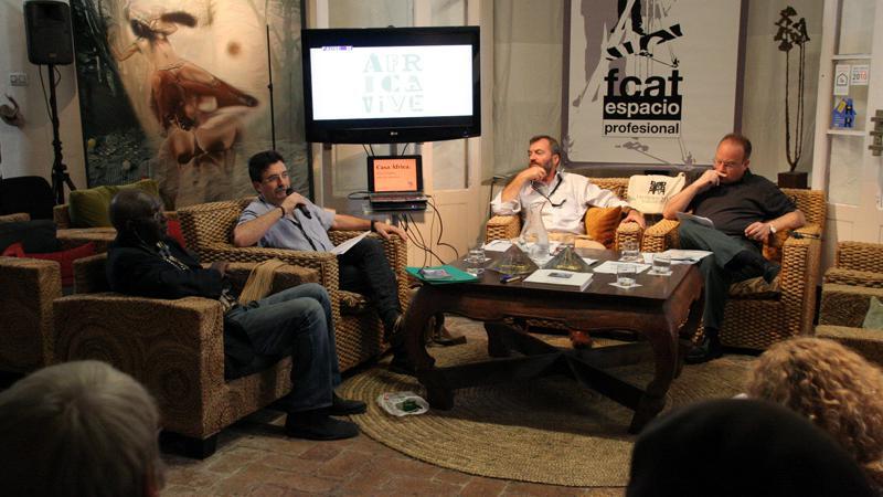 Boubacar Boris Diop habla sobre literatura, vida y África en el contexto del FCAT