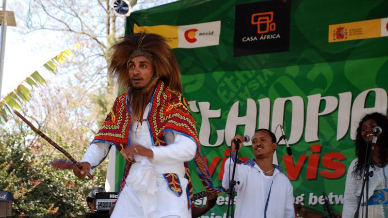 La energía de Ethiocolor y la pasión de Munit Mesfin conquistan a los programadores españoles en el Etiopía Vis a Vis