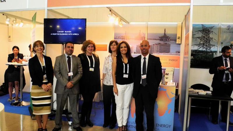 Canarias se promociona ante el sector energético africano como plataforma logística y tecnológica