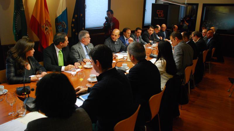 Casa África acoge la VIII reunión del PIC Las Palmas de Gran Canaria
