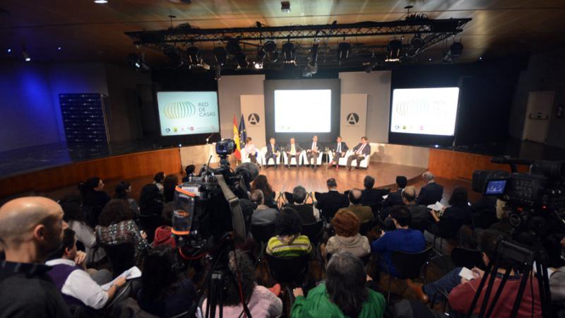Casa África participa en la firma del protocolo de la Red de Casas