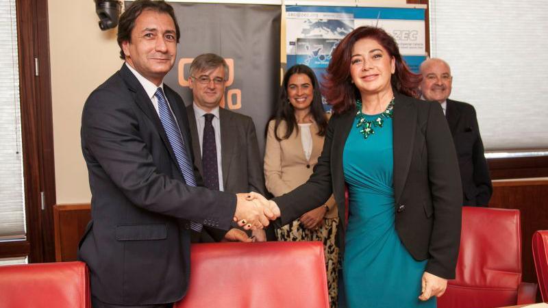 Casa África y la ZEC firman un convenio de colaboración