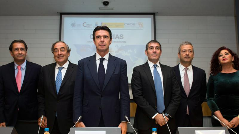 Luis Padrón participa en un encuentro sobre Canarias como centro de operaciones y de negocios hacia África