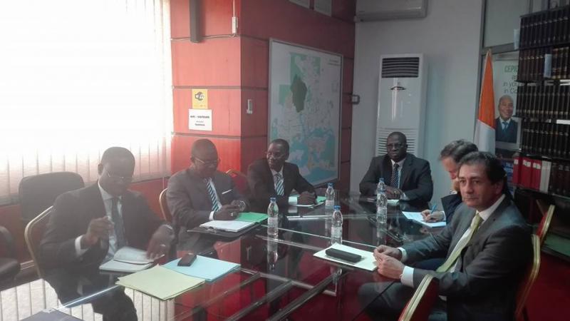 El Director General de Casa África visita Costa de Marfil
