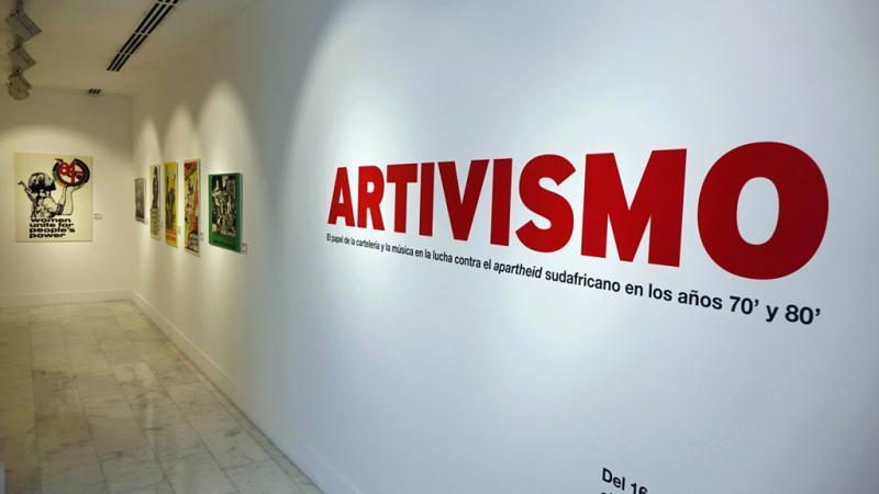 Casa África muestra en «Artivismo» la influencia del arte y la música en la lucha contra el apartheid sudafricano