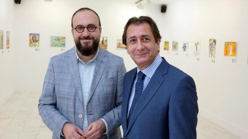 Casa África acoge la exposición «Don Quijote en el río Níger»