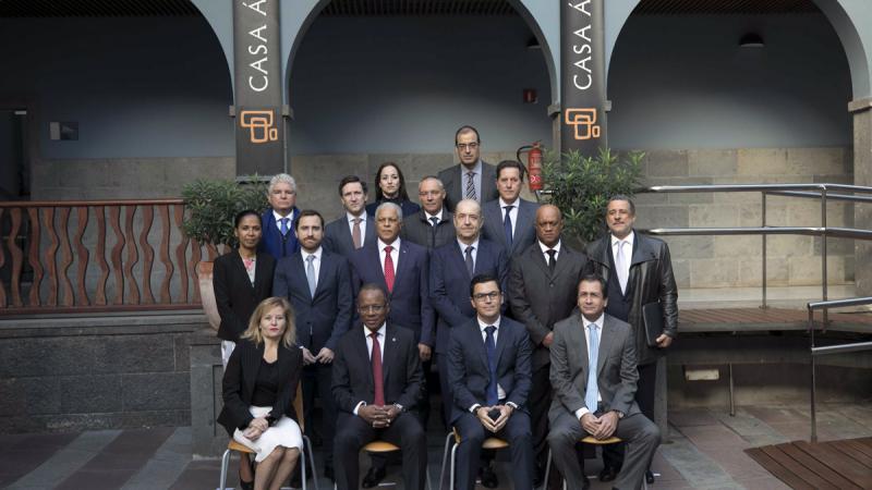 Cabo Verde y Canarias estrechan relaciones económicas en Casa África