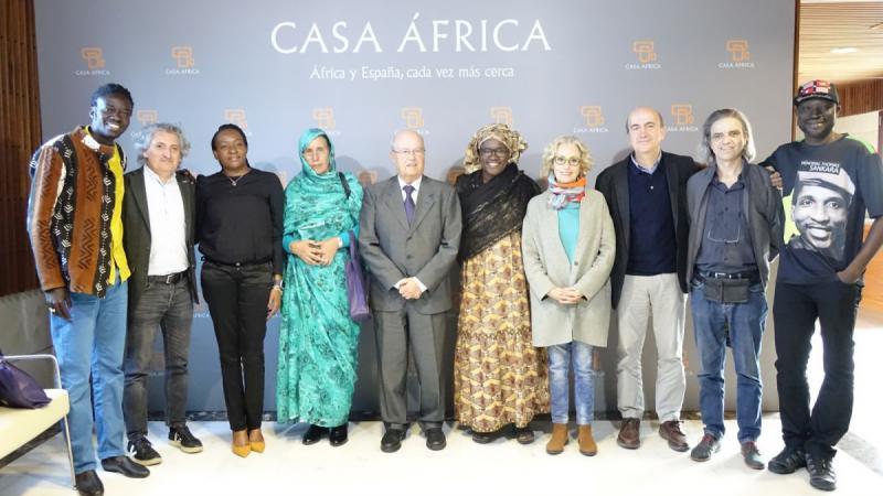 Casa África recibe a los participantes del Foro Internacional Gobernanza, Movimientos Sociales y Participación Ciudadana