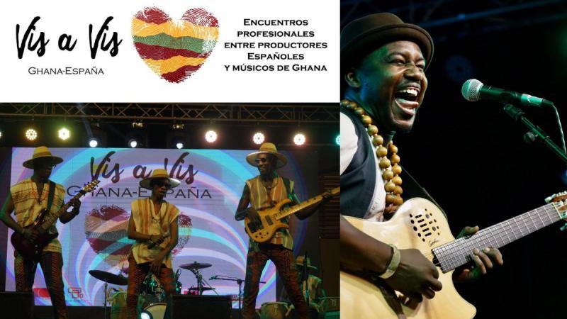 FRA! y Kyekyeku & Ghanalogue Highlife, los grupos musicales ganadores del Ghana Vis a Vis, girarán este verano por España
