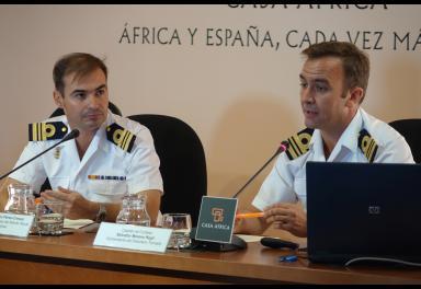 La Armada española explica en Casa África sus misiones en aguas de Somalia y el Golfo de Guinea