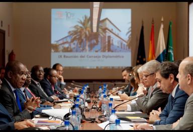 IX Consejo Diplomático de Casa África