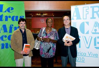 La voz de María Nsue, protagonista de 'Letras Africanas' en Casa África y el TEA