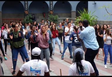 Casa África muestra el trabajo de los alumnos de Secundaria integrados en «Enseñar África»