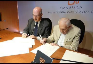 JSP y Casa África firman un protocolo de colaboración