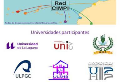 Primeras Jornadas Internacionales de Investigación del Proyecto CIMPI: Redes de cooperación interuniversitaria Canarias-África