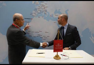 Casa África y la compañía aérea Royal Air Maroc firman un protocolo de colaboración