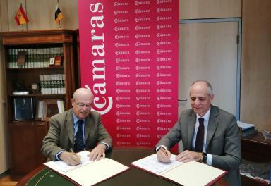 La Cámara de Santa Cruz de Tenerife y Casa África firman un protocolo de colaboración