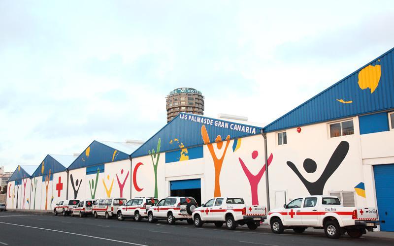Centro Logístico de Ayuda Humanitaria Canarias