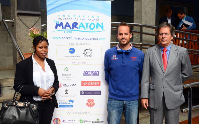 La Fundación Puertos y Casa África reconocen el apoyo de las empresas patrocinadoras de la Media Maratón