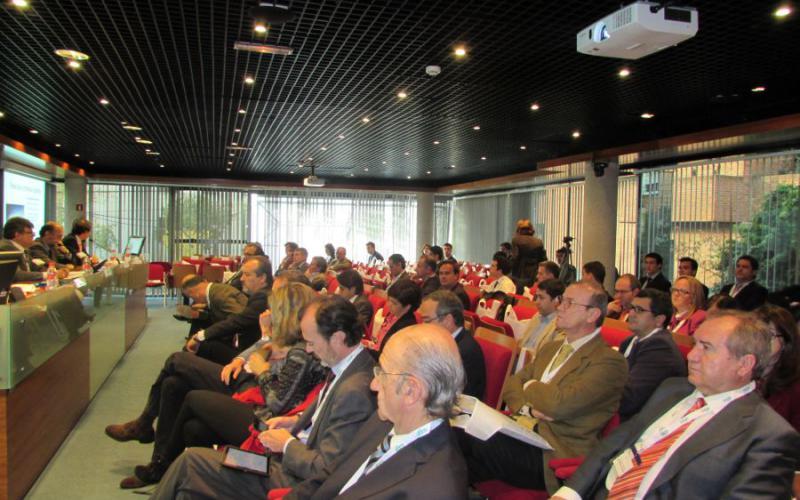 Luis Padrón imparte una conferencia sobre diplomacia económica en las Jornadas 'África Subsahariana. Claves para hacer negocios en la región'