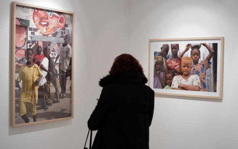 Ángel Luis Aldai presenta su exposición «Géntu Ndaw» en Casa África