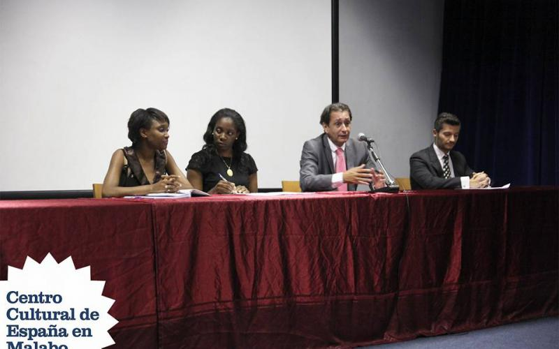 Luis Padrón, de visita institucional en Guinea Ecuatorial