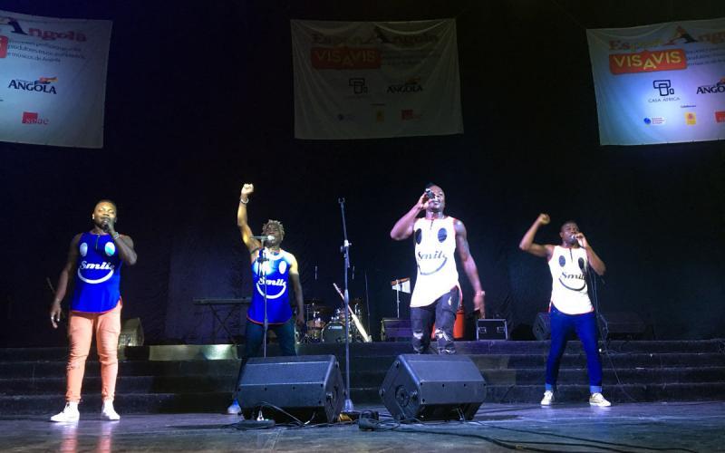 El kuduro 'activista' de Elenco da Paz y la fusión de estilos tradicionales de Toto St, ganadores de Angola Vis a Vis