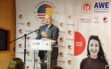 El Embajador de Estados Unidos en España, Duke Buchan, clausura la Academy for Women Entrepreneurs (AWE) en Casa África