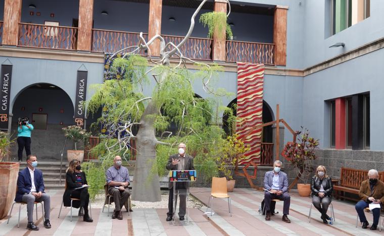 Encuentro final de la edición 2021 del proyecto Enseñar África