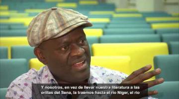 Entrevista a Alain Mabanckou/ Interview avec Alain Mabanckou