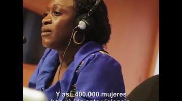 El grito silencioso de Caddy Adzuba contra el conflicto en el Congo