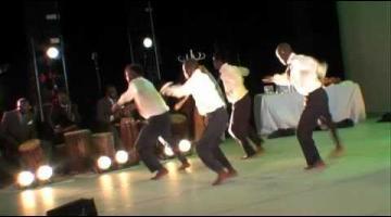 Espectáculo de danza 'Waxtaan', de la compañía Jant Bi