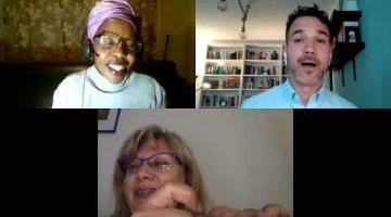 Encuentro con la la escritora botsuanesa Wame Molefhe [sonido original]