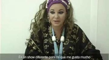 Entrevista a Natacha Atlas en el festival 'Noches de Ramadán'
