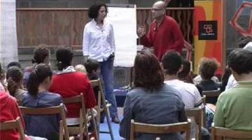 Taller de creación literaria con Zoubida Boughaba Maalem y Alexis Ravelo