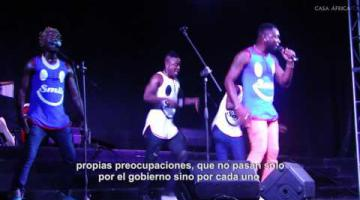 Elenco da Paz, ganadores de Angola Vis a Vis
