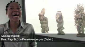 Exposición 'Negro. Arte Centroafricano', en Casa África