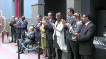 Luis Padilla recibe la Orden del Mérito Civil