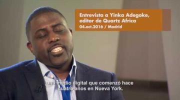Entrevista a Yinka Adegoke, editor de Quartz Africa