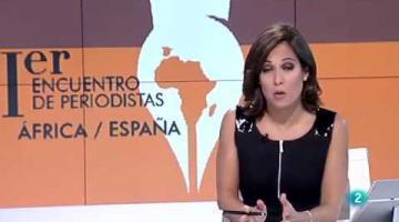 Pieza de La2Noticias sobre el I Encuentro de Periodistas África-España organizado por Casa África