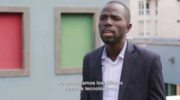 Jimmy Kumako, fundador de CoinAfrique