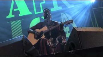 Njaaya, en el Concierto África Vive de Las Palmas de G.C.