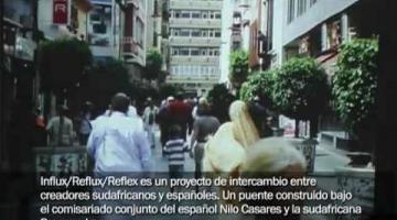'Influx/Reflux/Reflex': proyecto de intercambio artístico